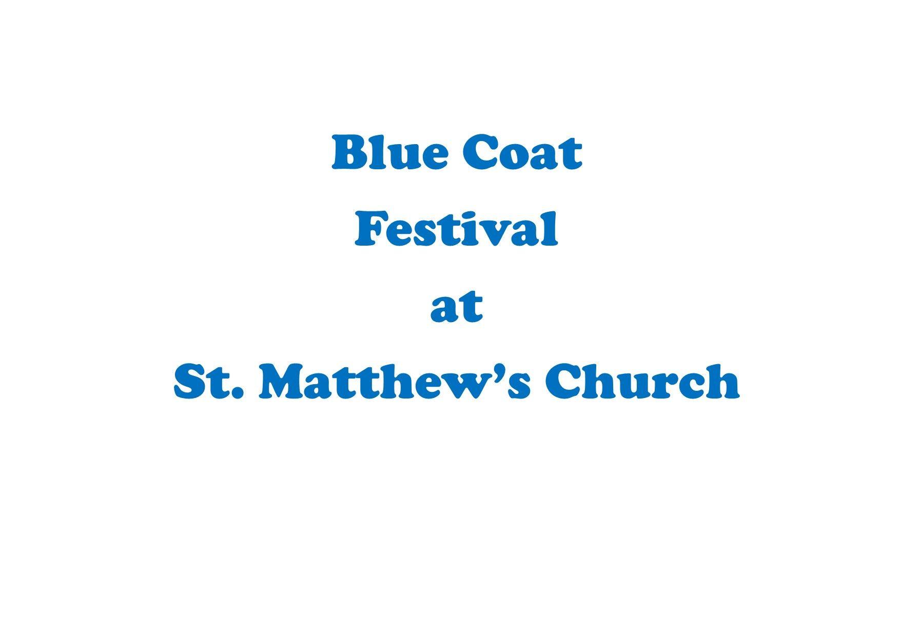 Blue-Coat-Festival